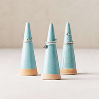 Olinda Speckled Ceramic Ring Holder | Urban Outfitters