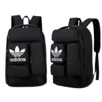ADIDAS 2017 new shoulder bag men and women travel bag leisure backpack Black