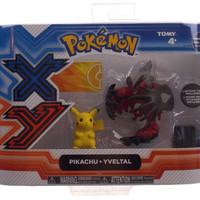 Tomy Pokemon X Y Pikachu Yveltal Figures Pack Attack Tag Series 1 T18101 Toy