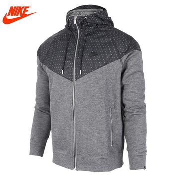 Authentic Nike men's coat spring new windproof jacket Windrunner training