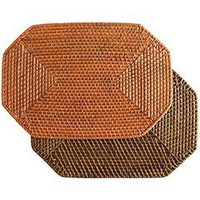Pier 1 Imports - Product Details - Octagon Rattan Placemats