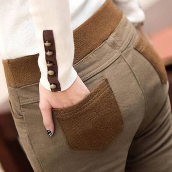 *Online Exclusive* Pencil Pant with Elastic Waist