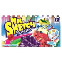Mr. Sketch Broad Tip Markers - 12ct