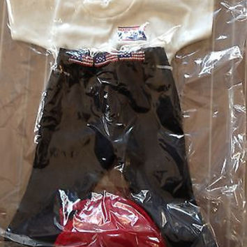 "American Girl Size 18"" Doll New MIP 3Pc.USA Set Jeans/Shirt Doll Dreams USA"