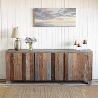 RECLAIMED BARN WOOD SIDEBOARD         -                  Consoles & Sideboards         -                  Furniture         -                  Furniture & Decor                       | Robert Redford's Sundance Catalog