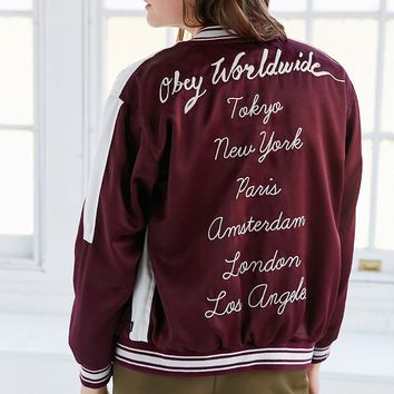 OBEY Talons Tour Bomber Jacket