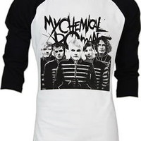 NWT my chemical romance Gerard Way MCR The Black Parade T-Shirt  2 Tones S,M,L