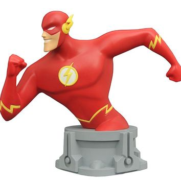 SDCC 2017 Exclusive JLA Animated Series Flash Resin Bust