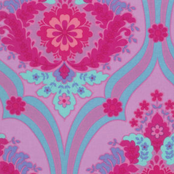 Christmas in July Jennifer Paganelli Fabric Crazy Love Priscilla Pink 1 Yard