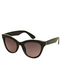 Sophie Cateye Sunglasses - Black