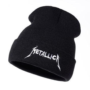 VORON band Metallica European and American Rock Music winter hat High Quality Warm hat Men Women Street cap hats