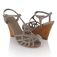 Vanessa Strappy Wedges - Forever21