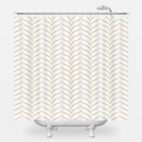 New York 1920 Shower Curtain