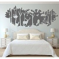 Deer Nursery Wall Decals