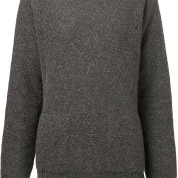 The Elder Statesman zigzag knit sweater