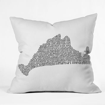 Restudio Designs Marthas Vineyard Throw Pillow