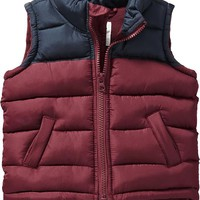 Old Navy Color Block Frost Free Vest For Baby