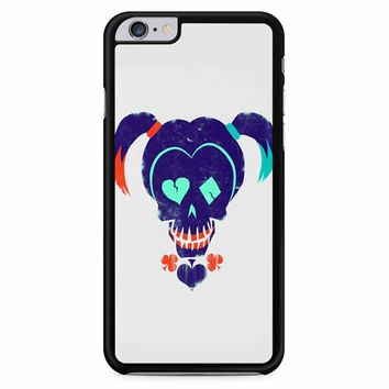 Harley Quinn Suicide Squad On White iPhone 6 Plus / 6S Plus Case