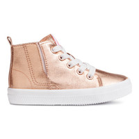 Coated Sneakers - from H&M