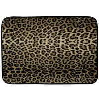Animal Print Memory Foam Bath Rug