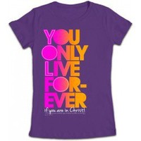 Kerusso You Only Live Forever (YOLF) Junior Christian T-Shirt