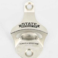 State Bicycle Bottle Opener- Silver One