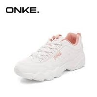 Online Shop ONKE 2018 New Spring Women Daddy Sneakers White Shoes Vintage Running Shoes Thick Sole Fitness Sports Shoes Female Girls Light | Aliexpress Mobile