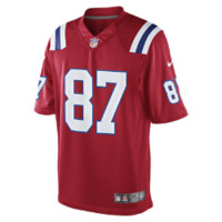Jersey New England Patriots Men's NFL Football Alternate Limited, Red
