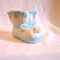 Vintage Baby Booie Planter Baby Shoe Planter