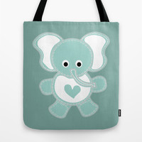 Elephant Tote Bag by VanessaGF