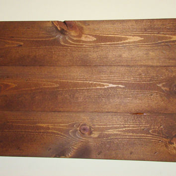 "Reclaimed wood blank sign, Stained 24""X 16.5"" Wood Canvas, Rustic Wall Art,Pallet Wood Canvas, Photography Backdrop, Rustic Decor"