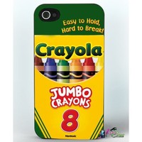 Crayola Crayon Box Iphone 4 / 4s Case Brand New