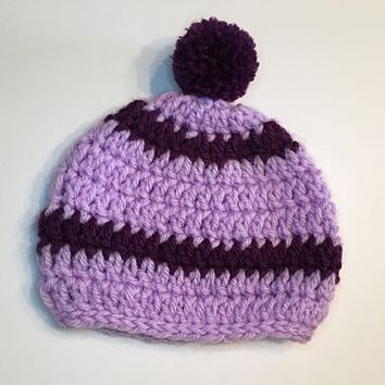 Two Toned Baby Hat
