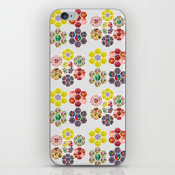 Sweet floral. iPhone & iPod Skin by Tone Reynolds