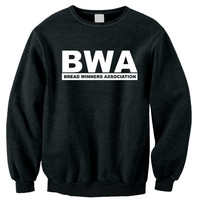 BWA Crew Neck Black or Grey Sweatshirt (Many Logo Colors Available)