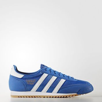 Men's adidas ORIGINALS DRAGON OG Sz 8 Shoes BY9699 blue white gold superstar