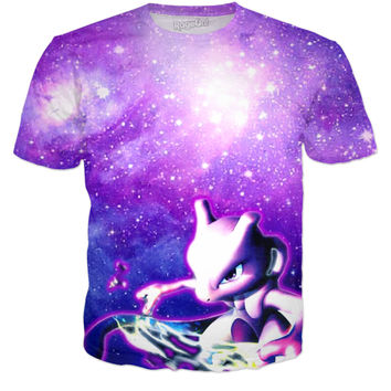 Mewtwo In Space T-shirt