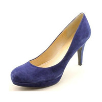 MARC FISHER SYDNEY - DARK BLUE SUEDE