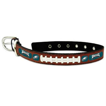 Philadelphia Eagles Classic Leather Medium Football Collar