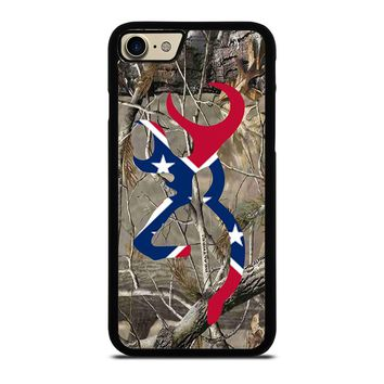 CAMO BROWNING REBEL FLAG iPhone 7 Case Cover