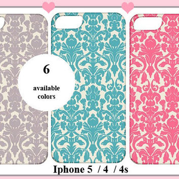 Iphone 5/4/4s Case- Cute Fashion Cover - pink, blue- Iphone 5 case,Iphone 4/4s case,Iphone 5 cover,Iphone 4 /4s cover,Iphone 5 /4 / 4s skin