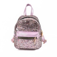 MINI SHOULDER SEQUIN BACKPACK (4 Colors)
