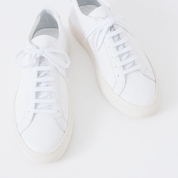 Woman by Common Projects White Limited Edition Achilles Low