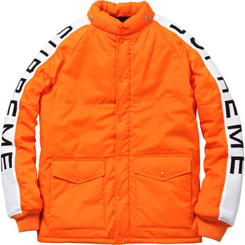 Supreme: Daytona Pile Lined Jacket - Blaze Orange