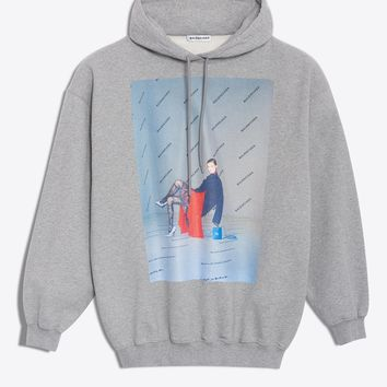 Oversize Photoshoot Graphic Hoodie by Balenciaga