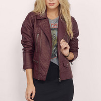 Downtown Girl Moto Jacket $68