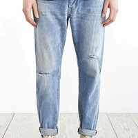 Neuw Studio Relaxed Light Wash Distressed Jean- Vintage Denim Medium