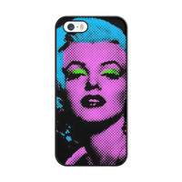 Marilyn Monroe Tattoo Floral iPhone 5|5S Case