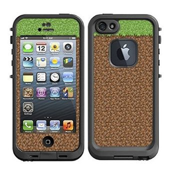 Skins Kit for Lifeproof iPhone 5 Case (skins/decals only) - Minecraft graphic design
