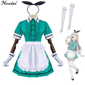 Blend S Hideri Kanzaki Coffee Maid Maika Sakuranomiya Cosplay Costume Japanese Anime Uniform Suit Outfit Clothes